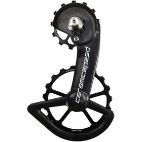 CeramicSpeed OSPW Pulley Wheels Oversized Ceramic 607 for Shimano 9100/R8000, black